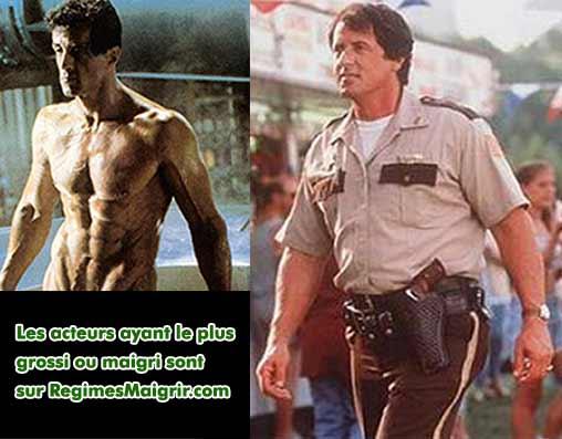 Sylvester Stallone a grossi de 19 kilogrammes pour son rôle dans le film Copland