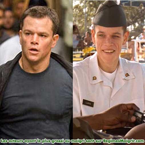 Matt Damon a perdu 20 kilogrammes pour le film A l'épreuve du feu