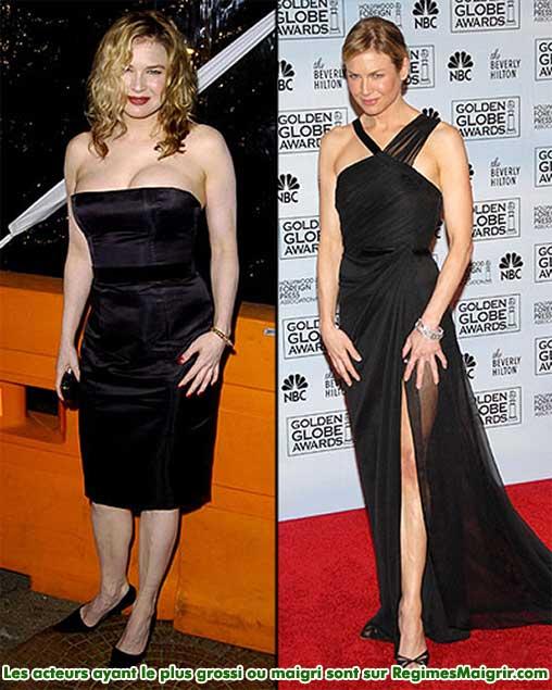 Renee Zellweger a perdu 11 kilogrammes pour le film musical Chicago
