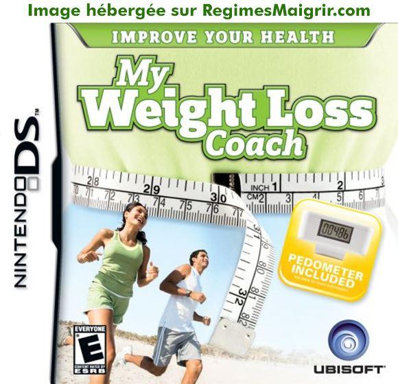 Boîte du jeu My Weight Loss Coach sur la console Nintendo DS