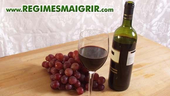 Le resveratrol contenu notamment dans le vin rouge produit les mêmes effets qu'une restriction calorique