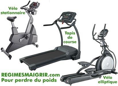Le v�lo stationnaire, le tapis de course, le v�lo elliptique ; laquelle de ces machines cardio compte le mieux les calories ?