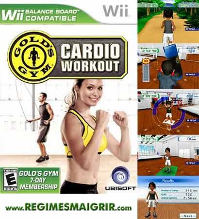 Gold Gym Cardio Workout, nouveau jeu fitness sur Wii
