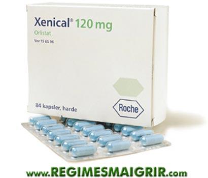 Une boîte du médicament amaigrissant Xenical