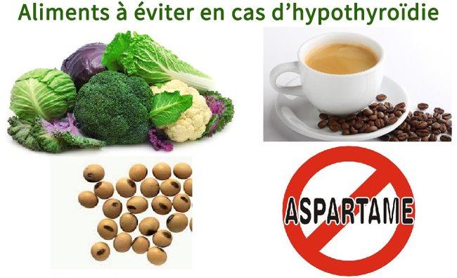 Quelques aliments à éviter quand vous souffrez d'hypothyroïdie