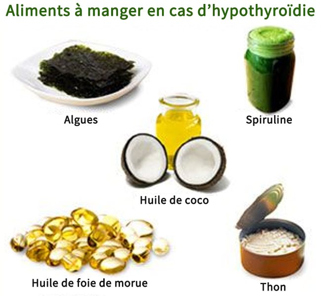 Les meilleurs aliments à manger en cas d'hypothyroïdie
