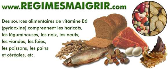 Aliments riches en vitamine B6