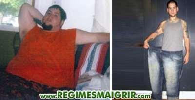 Michael Shilkus a maigri de 141 kilos et 51 cm autour du ventre