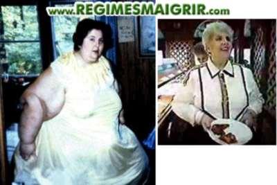 Rosalie Bradford a r�ussi � perdre 453 kilogrammes, soit la plus grande fonte de graisse jamais observ�e dans l'histoire
