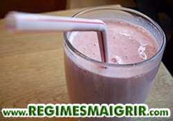 Pensez au milkshake pour obtenir assez de portions de fruits par jour