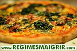 Les pizzas allégées et garnies de légumes aident à retrouver des forces après les efforts sportifs sans risquer de prendre du poids