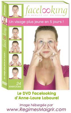 Le DVD Facelooking de la coach Anne-Laure Labourel fournit tous les exercices de gym nécessaires pour tonifier et dérider votre visage