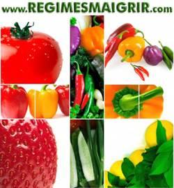 Beaucoup de fruits et légumes influencent l'équilibre acido-basique dans l'organisme
