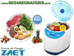 L'ozoniseur est un appareil qui permet de désinfecter les aliments afin de supprimer leurs agents pathogènes