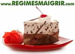 Manger moins de desserts caloriques tels les gâteaux au chocolat aide à perdre du poids durablement