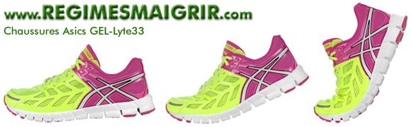 Les chaussures Asics GEL Lyte 33 sont parmi les plus légères du monde