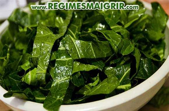 La couleur verdâtre des légumes verts comme le chou cavalier rappelle celle des billets de banque verts