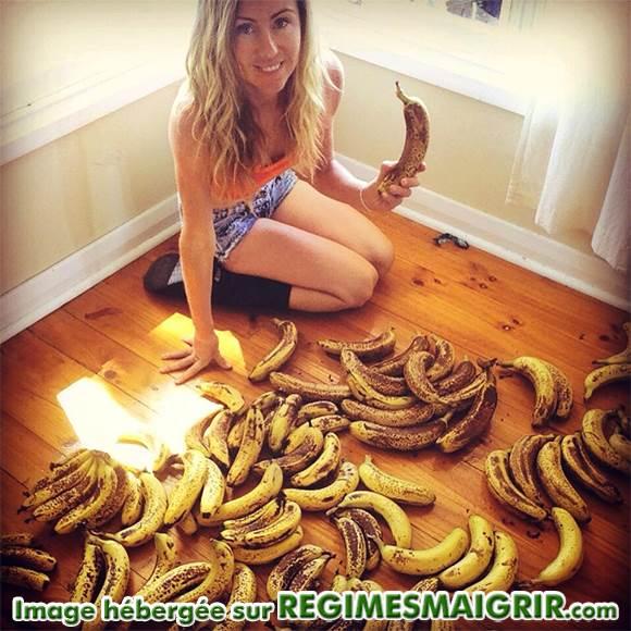 Consommer trop de bananes peut fatiguer les reins