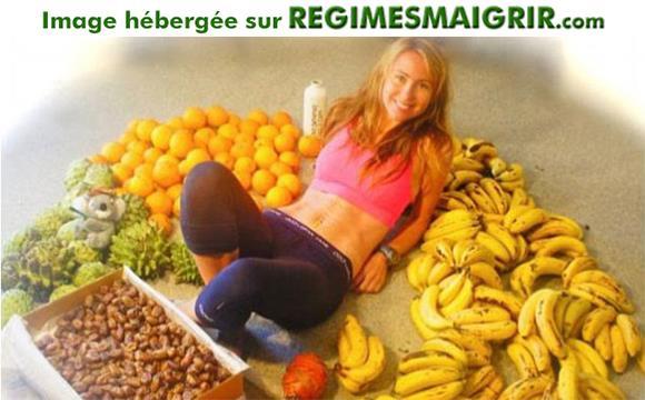 97% des calories à consommer dans le cadre de ce régime proviennent des fruits et c'est trop