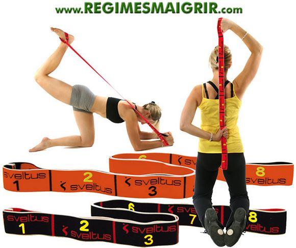 Super Elastiband : utiliser un élastique de fitness pour tonifier le corps XY83
