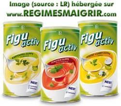 Quelques boîtes de soupes Figu Activ
