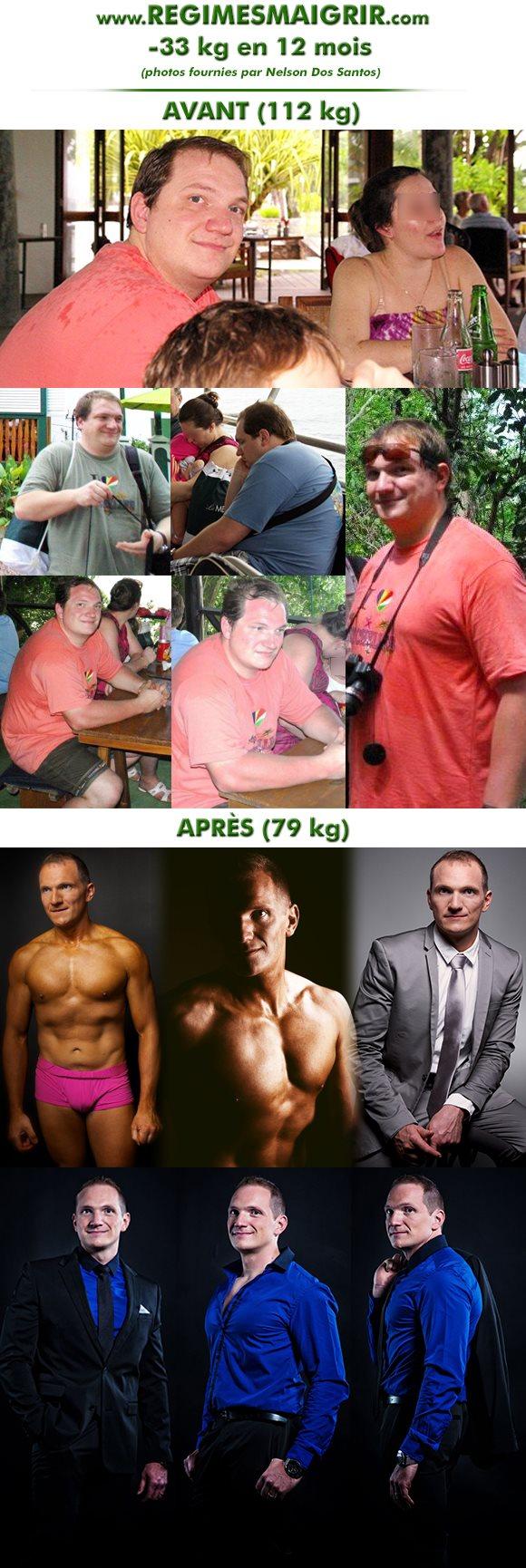 La spectaculaire transformation de Nelson Dos Santos résumée en 12 photos