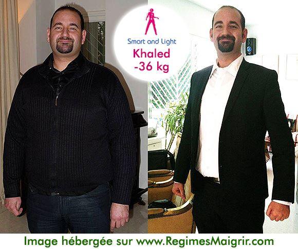 Khaled ne croyait plus au miracle mais a tenté un dernier coup avec le programme Smart and Light et l'a très bien réussi