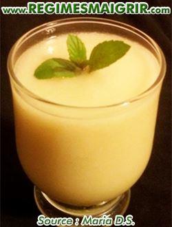 Milkshake de poires