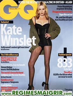 Kate Winslet fait la couverture du magazine GQ