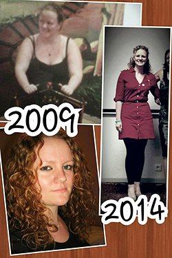 Le changement de Jessica de 2009 à 2014