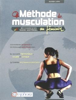 Couverture du livre méthode de musculation au féminin