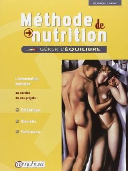 Couverture du livre méthode de nutrition Lafay