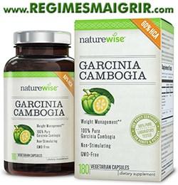 Une boîte de Garcinia Cambogia vendue par NatureWise