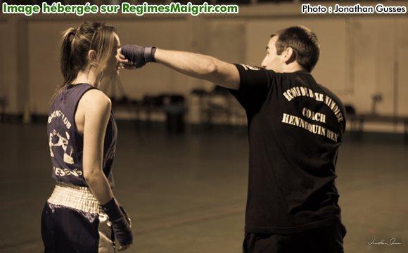 Maîtriser le crochet est important en boxe