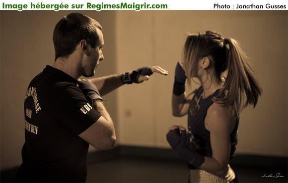 L'uppercut est une arme redoutable en boxe anglaise