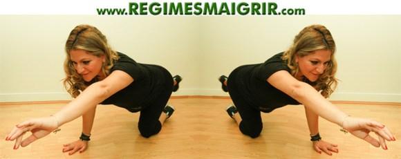 Exercice ciblant les muscles des fesses et des cuisses