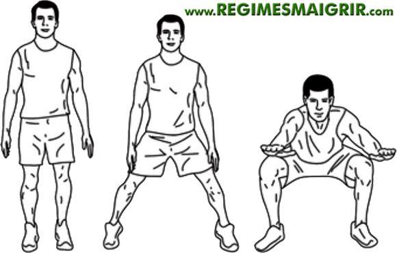 Voici comment faire un squat sumo Half Jack