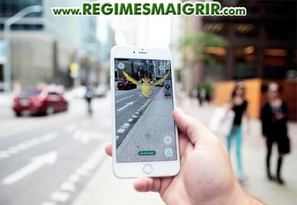 Chasser des Pokémons virtuels dans le monde réel