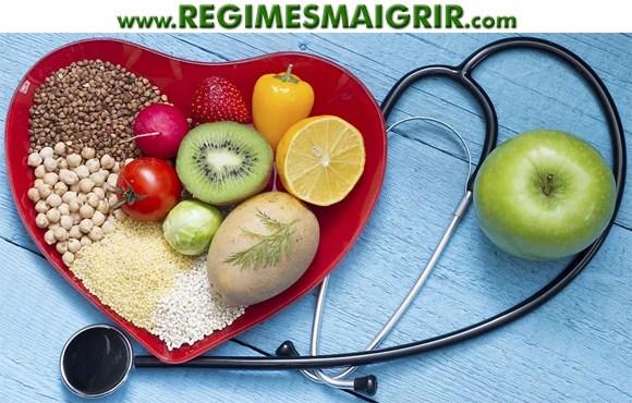 Aliments qui aident à baisser le taux de cholestérol
