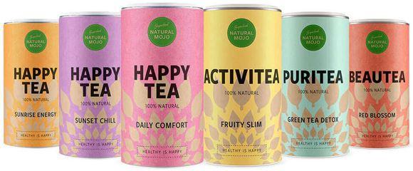 La gamme Happy Tea propose des thés très riches en superfoods