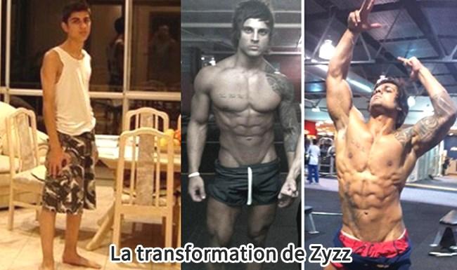 La transformation du feu Zyzz