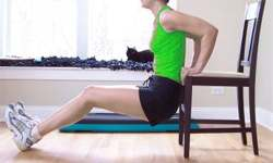 Dips pour raffermir les triceps