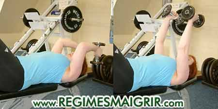 L'extension du triceps tonifie �galement