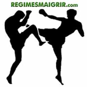 Le kickboxing pour d�penser de l'�nergie tout en s'amusant