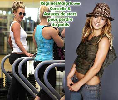 Britney Spears fait beaucoup de cardio et mange sainement pour mincir