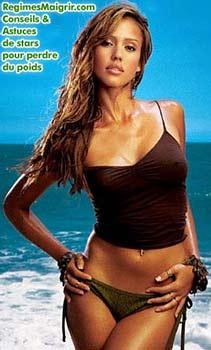 Jessica Alba fait beaucoup d'entra�nement physique
