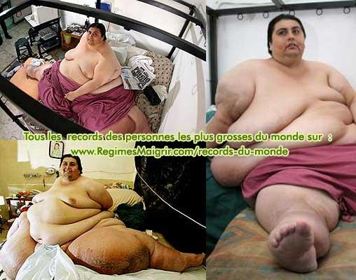 Manuel Uribe est l'homme qui pr�sente le poids le plus impressionnant du monde