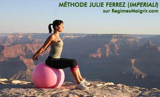 Julie Ferrez �tait autrefois appel�e Julie Imperiali, c'est une coach reconnue de c�l�brit�s