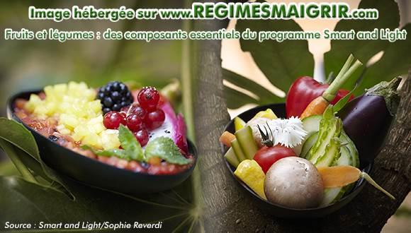 Les fruits et légumes sains et bien présentés constituent l'une des bases de la méthode de Sophie Reverdi