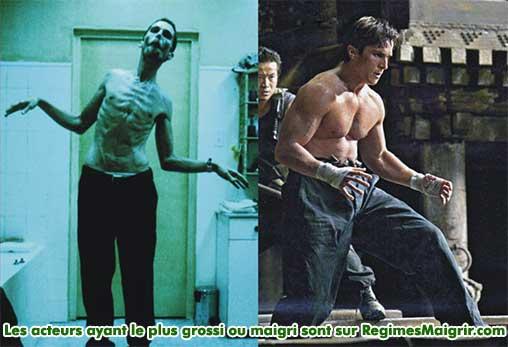 Christian Bale a grossi de 45 kilogrammes après le tournage de The Machinist pour jouer dans Batman Begins